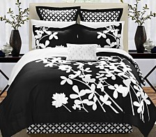 Chic Home Iris 11-Pc Queen Comforter Set