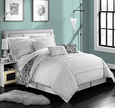 Elle 7-Pc King Comforter Set