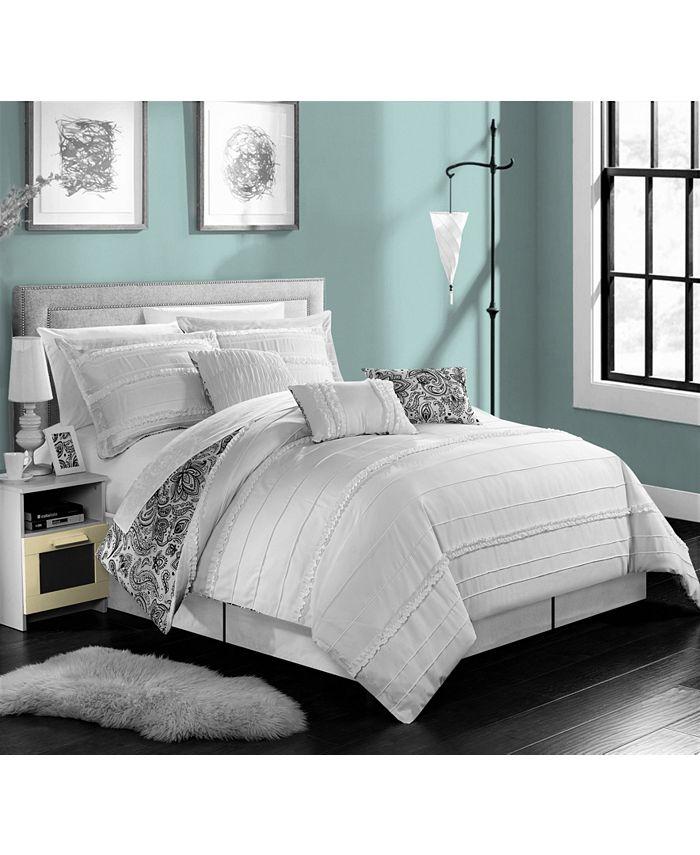 Chic Home - Elle 7-Pc. King Comforter Set