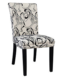 Bella Luna Wide Back Parson Side Chair