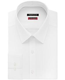Men's Slim-Fit Flex Collar Stretch Solid Dress Shirt