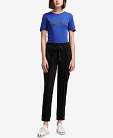 DKNY Pull-On Drawstring Pants, Created for Macy's