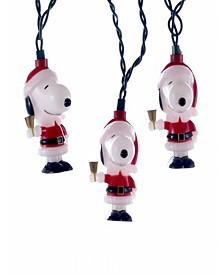 UL 10-Light Santa Suit Snoopy Light Set