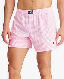 Polo Ralph Lauren Men's Gingham Cotton Boxers