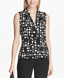 Calvin Klein Dot-Print Top