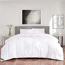 Regency Sateen 300 Thread Count Cotton Allergen Barrier  Down Alternative Comforter - King