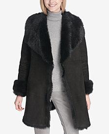 Calvin Klein Shearling Toscana Coat