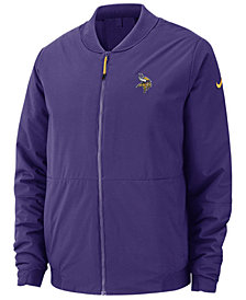 Nike Men's Minnesota Vikings Bomber Jacket