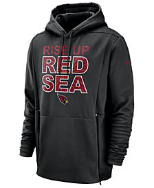 Nike Men's Arizona Cardinals Sideline Player Local Therma Hoodie