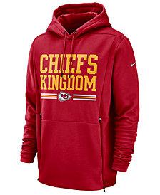 Nike Men's Kansas City Chiefs Sideline Player Local Therma Hoodie