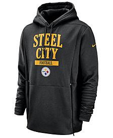 Nike Men's Pittsburgh Steelers Sideline Player Local Therma Hoodie