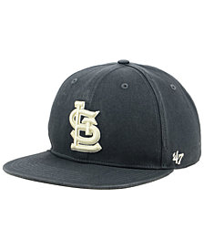'47 Brand St. Louis Cardinals Garment Washed Navy Snapback Cap