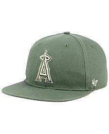 '47 Brand Los Angeles Angels Moss Snapback Cap