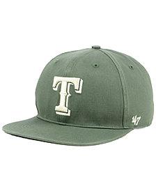 '47 Brand Texas Rangers Moss Snapback Cap