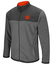 Colosseum Men's Clemson Tigers Full-Zip Fleece Jacket