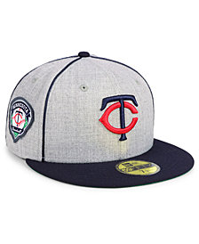 New Era Minnesota Twins Stache 59FIFTY FITTED Cap
