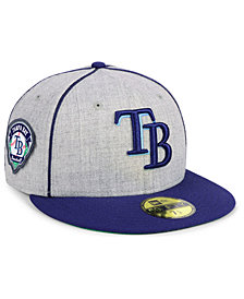New Era Tampa Bay Rays Stache 59FIFTY FITTED Cap