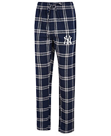 Concepts Sport Men's New York Yankees Homestretch Flannel Pajama Pants