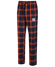 Concepts Sport Men's Houston Astros Homestretch Flannel Pajama Pants
