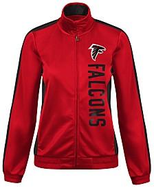 G-III Sports Women s Atlanta Falcons Backfield Track Jacket c5f6a7b95