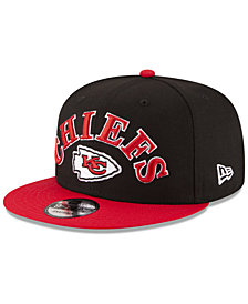 New Era Kansas City Chiefs Retro Logo 9FIFTY Snapback Cap