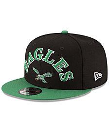 New Era Philadelphia Eagles Retro Logo 9FIFTY Snapback Cap