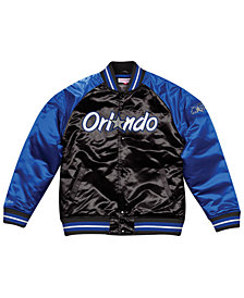 Mitchell & Ness Men's Orlando Magic Tough Season Satin Jacket
