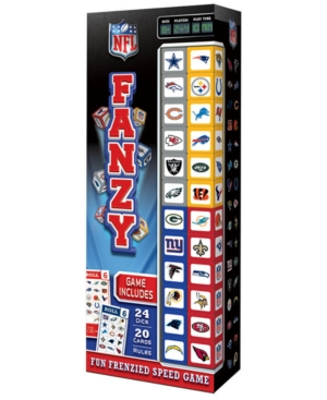 MasterPieces Puzzle Company Nfl Fanzy Dice Game