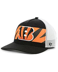 '47 Brand Cincinnati Bengals Team Stripe MVP Cap