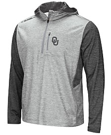 Colosseum Men's Oklahoma Sooners Reflective Quarter-Zip Pullover