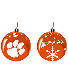 "Memory Company Clemson Tigers 3"" Sled Glass Ball"