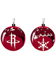 "Memory Company Houston Rockets 3"" Sled Glass Ball"