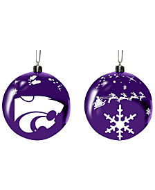 "Memory Company Kansas State Wildcats 3"" Sled Glass Ball"