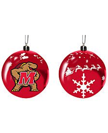 "Memory Company Maryland Terrapins 3"" Sled Glass Ball"