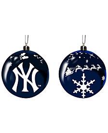 "Memory Company New York Yankees 3"" Sled Glass Ball"