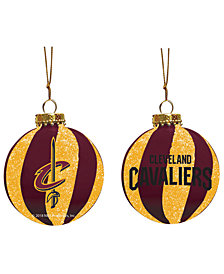 "Memory Company Cleveland Cavaliers 3"" Sparkle Glass Ball"