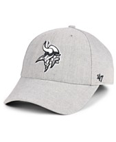 huge discount df3eb 41468  47 Brand Minnesota Vikings Heathered Black White MVP Adjustable Cap.