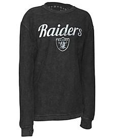 Women's Oakland Raiders Comfy Cord Top