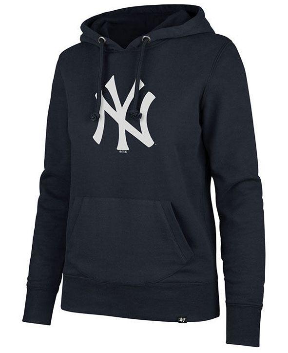 '47 Brand Women's New York Yankees Imprint Headline Hoodie