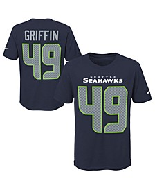 Shaquem Griffin Seattle Seahawks Pride Name and Number 3.0 T-Shirt, Big Boys (8-20)