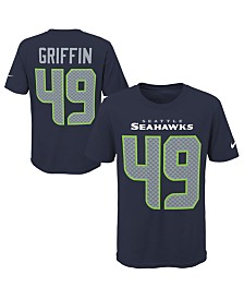 Nike Shaquem Griffin Seattle Seahawks Pride Name and Number 3.0 T-Shirt, Big Boys (8-20)