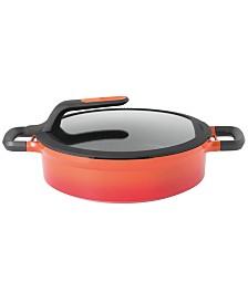 Berghoff Gem Cast Aluminum 4.9 Qt. Non-Stick Covered Two-Handled Saute Pan