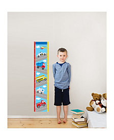 Transportation Growth Chart Decal