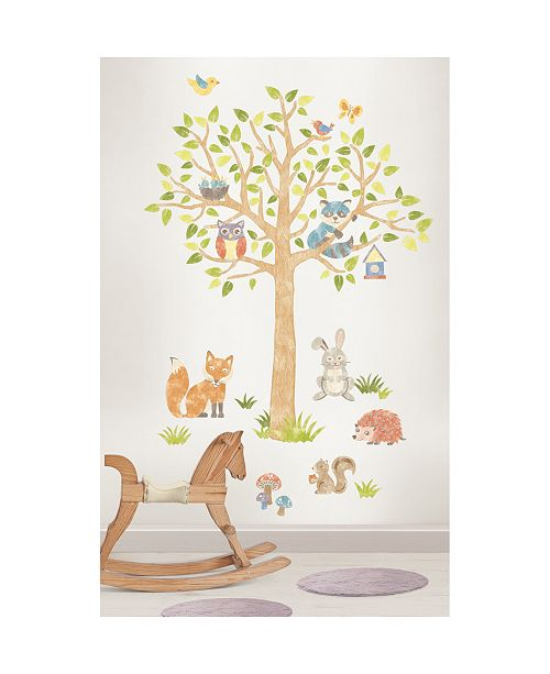 Brewster Home Fashions Woodlands Giant Wall Art Kit