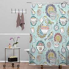 Heather Dutton Tea Time Shower Curtain