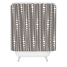 Heather Dutton Bestrewn Stone Shower Curtain