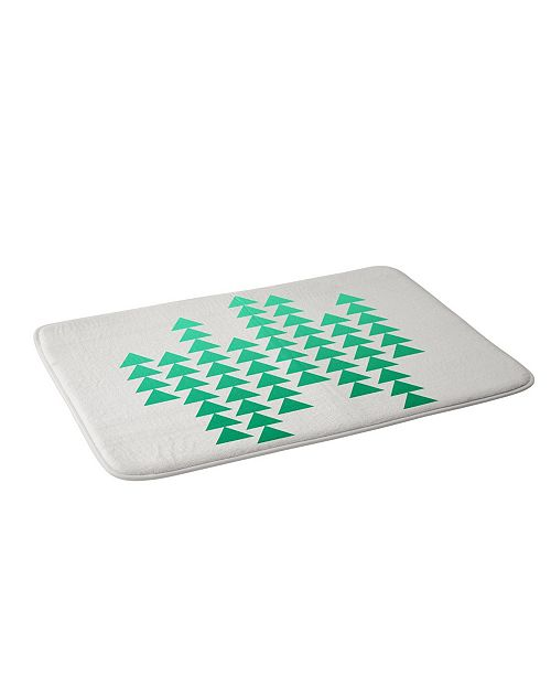 Deny Designs Holli Zollinger Emerald Arrowing Bath Mat
