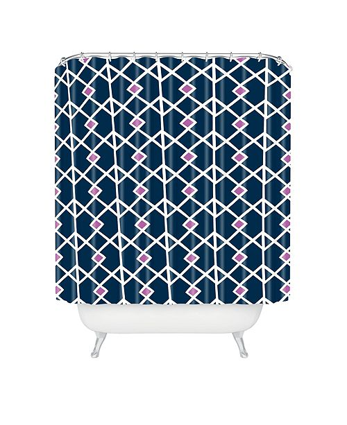Deny Designs Heather Dutton Annika Diamond Orchid Shower Curtain