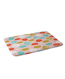 Deny Designs Heather Dutton Snowflake Holiday Bobble Chill Bath Mat