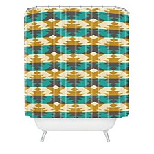Holli Zollinger Native Diamond Shower Curtain